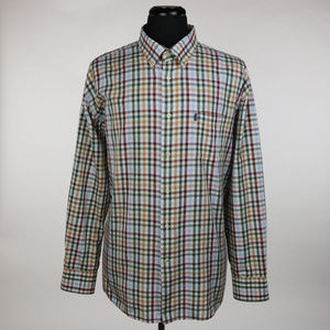 Barbour Tattersall L/S Shirt Size XL Multi-Color